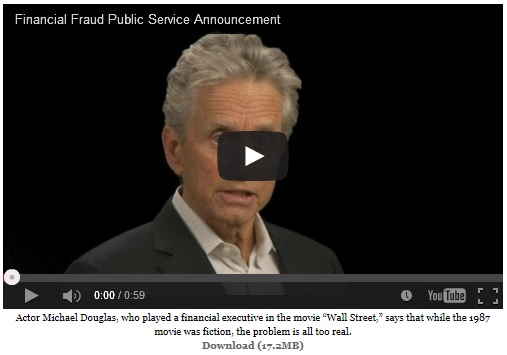 Financial Fraud Public Service Announcement